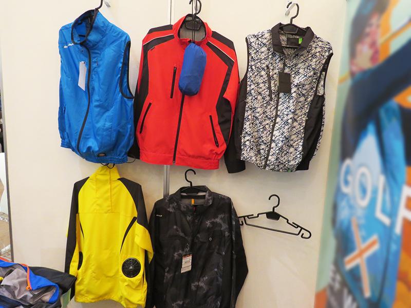 ベスト・長袖など様々な空調服のラインナップ